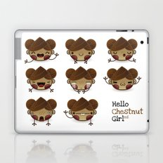 Chestnut Girl Mood Laptop & iPad Skin