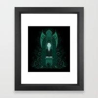 The Altar Framed Art Print