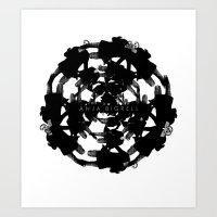 Anja Bigrell - The explosion2 Art Print