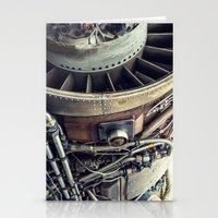 Jet Engine Stationery Cards