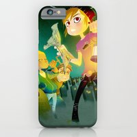 iPhone & iPod Case featuring The Secret of Mary Shelley by Dronio