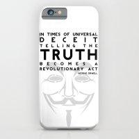 Truth Revolution - V for Vendetta iPhone 6 Slim Case