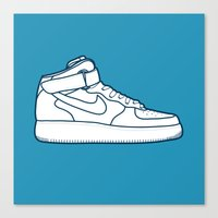 #13 Nike Airforce 1 Canvas Print