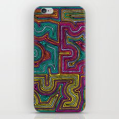 Concentric Lines iPhone & iPod Skin