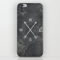 Compass (Map) iPhone & iPod Skin