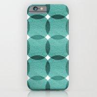 Overlapped Circle Pattern 6 iPhone 6 Slim Case