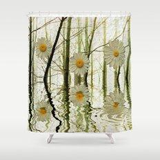 DAISY TREES Shower Curtain
