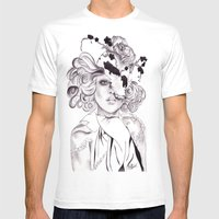 Garden Hat  Mens Fitted Tee White SMALL