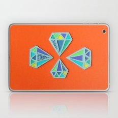 Diamonds Papercut Laptop & iPad Skin