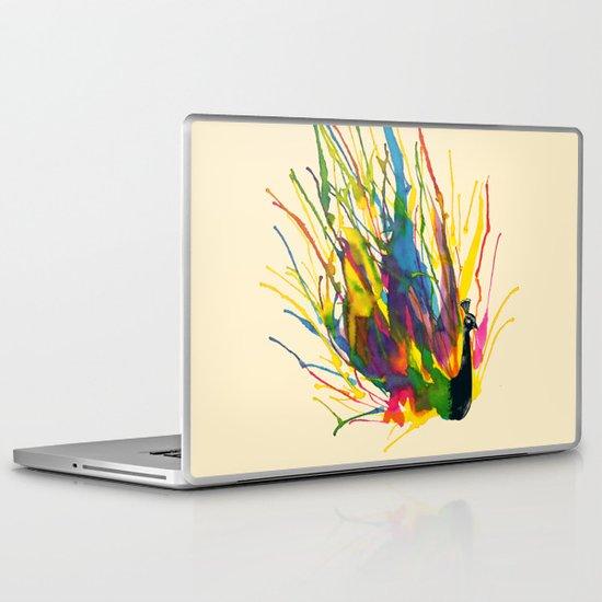 Colorful Peacock Laptop & iPad Skin