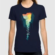 T-shirt featuring I Want My Blue Sky by Budi Kwan