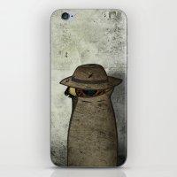 Ójoro Holmes iPhone & iPod Skin