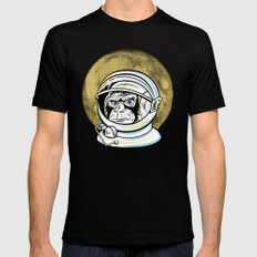 Space Ape Mens Fitted Tee Black SMALL