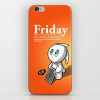 Thank You Friday! iPhone & iPod Skin