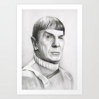 Spock Art Print