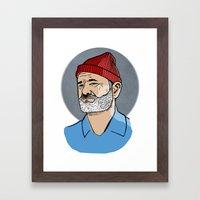 Zissou Framed Art Print