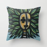 Native Of Nature Throw Pillow