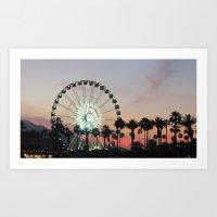 Coachella Art Print