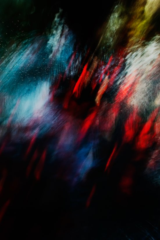 Abstract goldfish_02 Canvas Print