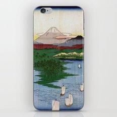 Noge and Yokohama by Hiroshige iPhone & iPod Skin
