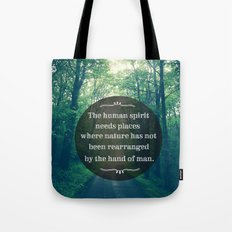 Places in Nature Tote Bag