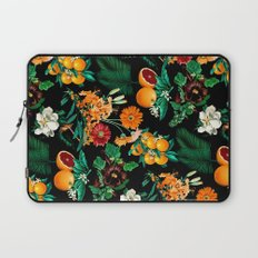 Fruit and Floral Pattern Laptop Sleeve