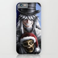 iPhone Cases featuring Festive Lawrence by Falln