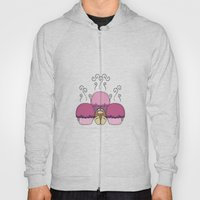 Cute Monster With Pink A… Hoody