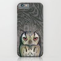 iPhone & iPod Case featuring Owl by Lorri Leigh Art