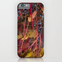 Berries and Leaves iPhone 6 Slim Case