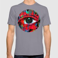 Useless Eyes Mens Fitted Tee Slate SMALL