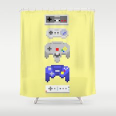 Nintendo Shower Curtain
