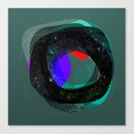 Canvas Print featuring The Abstract Dream 9 by Marko Köppe