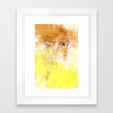 Stealth portrait Framed Art Print