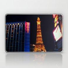 Eiffel tower Las Vegas Laptop & iPad Skin