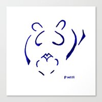 Heart´s Lion Canvas Print