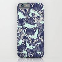 iPhone & iPod Case featuring butterfly pale mint by Sharon Turner