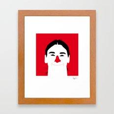 Zlatan Framed Art Print