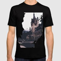 Castlevania Mens Fitted Tee SMALL Black