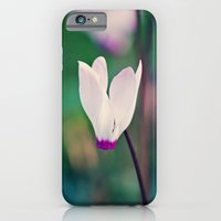 iPhone & iPod Case featuring Wild Cyclamen by Around the Island (Robin Epstein)