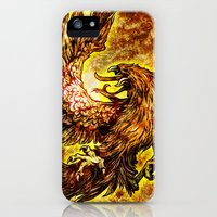 iPhone Cases featuring Phoenix Rising by Spooky Dooky