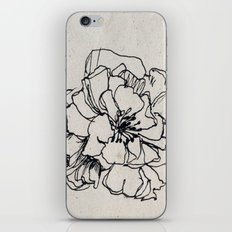 Flower Hairpin iPhone & iPod Skin