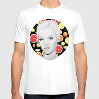 Citrus Mens Fitted Tee White SMALL