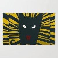 Evil Cat Rug