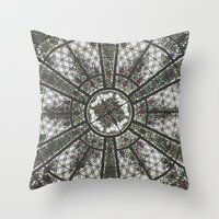 Roof Designs Throw Pillow