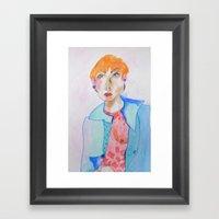 Study #37 Framed Art Print