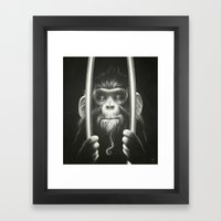 Prisoner II Framed Art Print