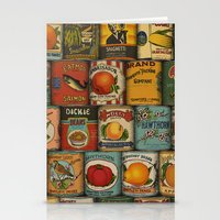 Canned in the USA Stationery Cards