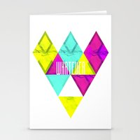 Paper Triangles ▵WHATE… Stationery Cards