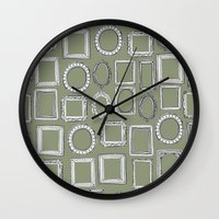Picture Frames Herb Wall Clock